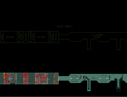 Intelligent headband flexi rigid PCB